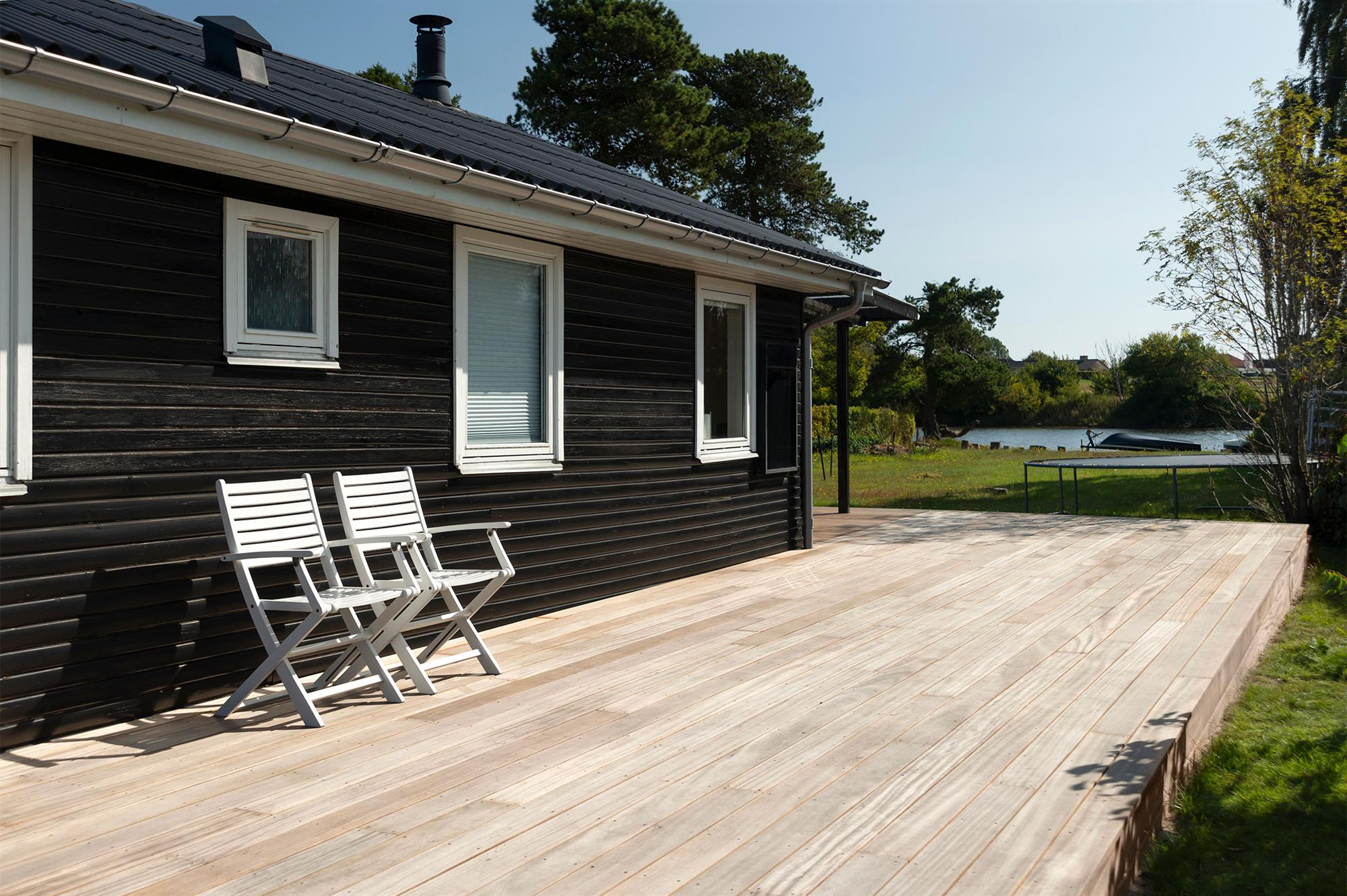 Picture of: Bangkirai Terrasse Inspiration Froslev Trae A S